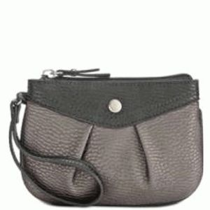 Style & Co Hannah Wristlet Pewter Black